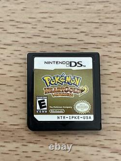Pokemon Heartgold Version Nintendo DS Authentic Tested