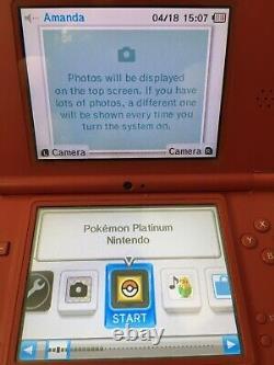 Pokemon Platinum Nintendo (DS, 2009) % AUTHENTIC! MANUAL! SEE GAMEPLAY PICS