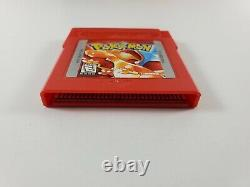 Pokemon Red Version (Game Boy, 1998) Game Cartridge Box Only No Manual Authentic