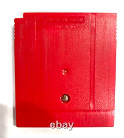 Pokemon Red Version Nintendo GameBoy Game Authentic with New Save Battery