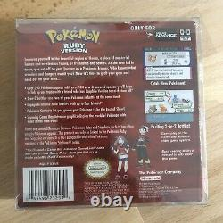 Pokemon Ruby Authentic Game Boy Advance Complete In Box (No game)