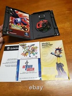 Pokemon Ruby Colosseum XD Gale of Darkness & Bonus Disc Lot Complete Authentic