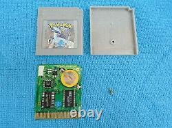 Pokémon Silver Complete In Box Nintendo Game Boy Color Authentic New Battery CIB