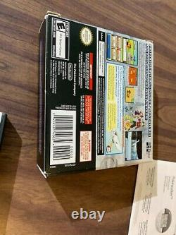 Pokemon SoulSilver (Nintendo DS) Complete in box with pokewalker - Authentic