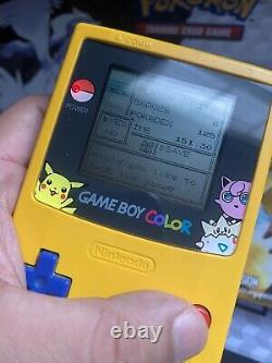 Pokemon Yellow Version Special Pikachu Edition Authentic Box And Game