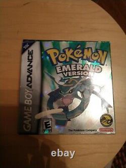 Pokemon emerald authentic Cib With Pre Order Tin