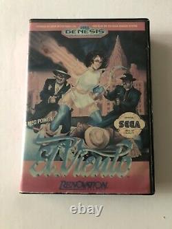 Rare Sega Genesis Game El Viento Cib Complete Authentic USA Version