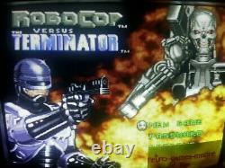 RoboCop vs. The Terminator Super Nintendo AUTHENTIC SNES Actual pict. Fast ship