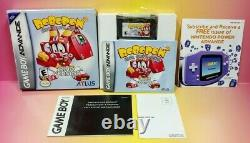 Robopon 2 Ring Version Game Boy Advance COMPLETE Authentic 2002 Tested GBA