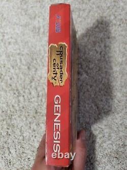 Sega Genesis Grail Crusader Of Centy Cib 100% Authentic