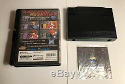 Shock Troopers 2nd (Second) Squad NEO GEO AES AUTHENTIC HOMECART JAPAN
