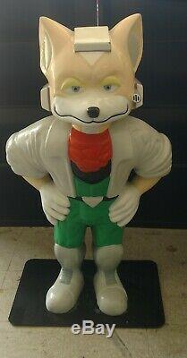 Star Fox Statue 4 Foot Tall Authentic Nintendo Store Statue