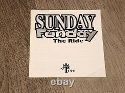Sunday Funday The Ride Nintendo Nes Complete CIB Very Good Tested Authentic