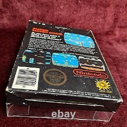 Super Mario BroOriginal 5 Screw Circle SealNintendo NES Authentic Black Box US