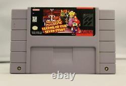 Super Mario RPG Nintendo SNES Game Authentic