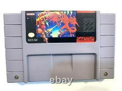 Super Metroid SUPER NINTENDO SNES Game Tested Working Authentic