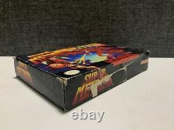 Super Metroid (Super Nintendo Entertainment System, SNES 1994) CIB, Authentic