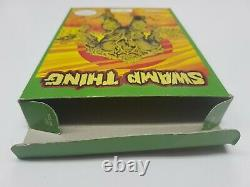 Swamp Thing Nintendo NES Box Only (No Game, No Manual) Authentic