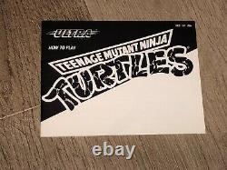 Teenage Mutant Ninja Turtles 1 Nintendo Nes Complete CIB Very Good Authentic