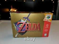 The Legend of Zelda Ocarina of Time (Nintendo 64 N64) Complete in Box Authentic