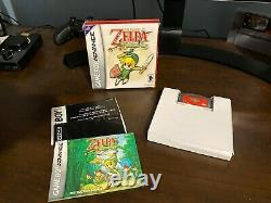 The legend Of Zelda The Minish Cap Complete Authentic