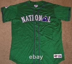 VTG AUTHENTIC 90's NATIONAL MLB 1998 ALL-STAR GAME MAJESTIC BLANK JERSEY 2X SEWN
