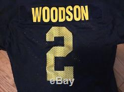 Vintage Authentic Nike Woodson Michigan Wolverines Football Game Jersey Sz 52