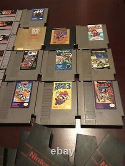 Vtg Nintendo Game Lot SNES/NES Mario, Zelda, Castlevania, AND MORE! 100% AUTHENTIC