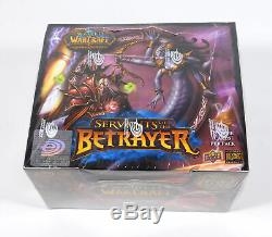 World of Warcraft TCG WoW Servants of the Betrayer Booster Box Sealed 24 Packs