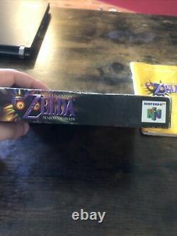 Zelda Majoras Mask Collectors Edition 64 Cib Nintendo 64 N64 Authentic Tested