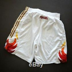 100% Authentique Adidas Nba 2009 All Star Game Shorts Taille L Grand Kobe Bryant