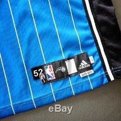 100% Authentique Dwight Howard Adidas Magique 09 10 Portés Signé Jersey Utilisé