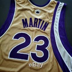 100% Authentique Kevin Martin Sacramento Kings 05 06 Portés Délivré Jersey Occasion