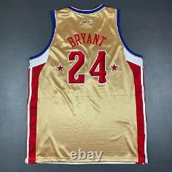 100% Authentique Kobe Bryant Adidas 2008 Nba All Star Game Jersey Taille 52 Hommes