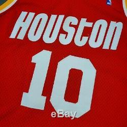 100% Authentique Sam Cassell Champion Rookie Rockets Portés Jersey Loa Utilisé