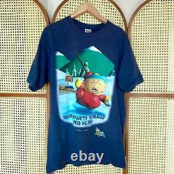 1999 South Park T-shirt Cartman Nintendo 64 Jeu Vidéo Promo Officiel Authentique