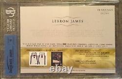 2015 The Bar Lebron James Autograph Game Jeux D'occasion Jersey Patch Auto Logo Carte 1/1