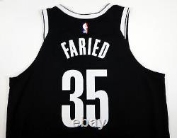 2018-19 Brooklyn Nets Kenneth Faried #35 Jeu Utilisé Black Jersey Vs Min 112318