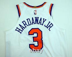 2018-19 New York Knicks Tim Hardaway Jr #3 Jeu Utilisé White Jersey Vs Nets 10 Pts