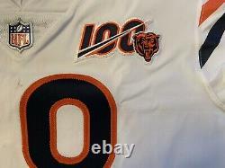 2019 Chicago Bears Nike Authentique Jersey Occasion Avec 100 E Anniversaire Patch