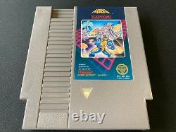 5 Vis Mega Man 1 (nes, Nintendo) 5-screw Variant W Non-rev Manuel Authentique