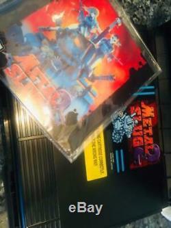 6 Jeux Beaucoup Bundle Neo Geo Aes U. S Version Très Rare 100% Authentique