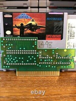 Aero Fighters Snes (super Nintendo, 1994) D'occasion, Authentique