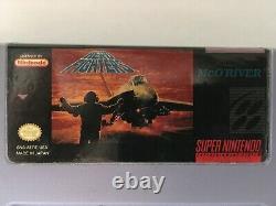 Aerofighters Super Nintendo, Snes Authentic Testé & Works Aero Fighters