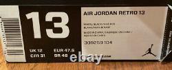 Air Jordan Retro 13 He Got Game (2013) Taille 13 Rare Og Blanc, 100% Authentique