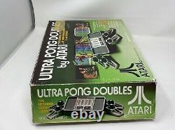 Atari Ultra Pong Double Console De Jeu Vidéo Avecorig Box Authentic Tested Works
