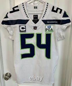 Authentique Bobby Wagner Seattle Seahawks Nike 42 Jersey Game Team Émis Pro Utilisé