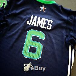 Authentique Lebron James Adidas 2014 Nba All Jeu Jersey Taille XL Mens