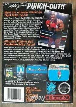 Authentique Mike Tyson's Punch-out Pour Nintendo (nes)(cib) Version Mattel Canadien
