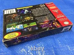 Authentique Nintendo 64 Zelda Majoras Mask Game In Box Collectors Edition N64
